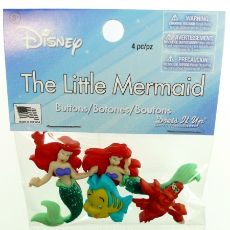 Knapper Disney The Little Mermaid