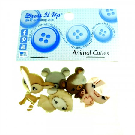 Dress it Up Knapper Animal Cuties