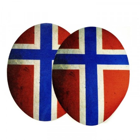 Motiver flagg sport emblem