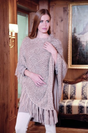 Lana Gatto MOHAIR ROYAL Poncho