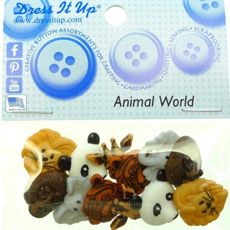 Dress it Up Knapper Animal World