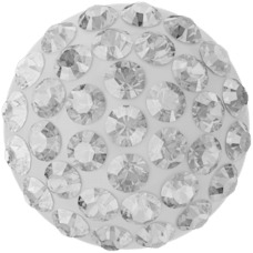 Swarovski 86601 Pave Pure / 6mm