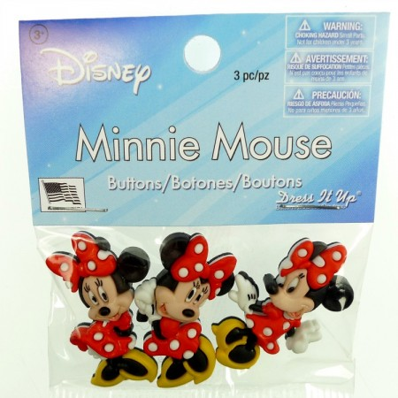 Knapper Disney Minnie Mouse