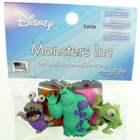 Knapper Disney Monsters Inc