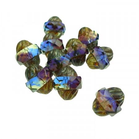 Perler med fasett