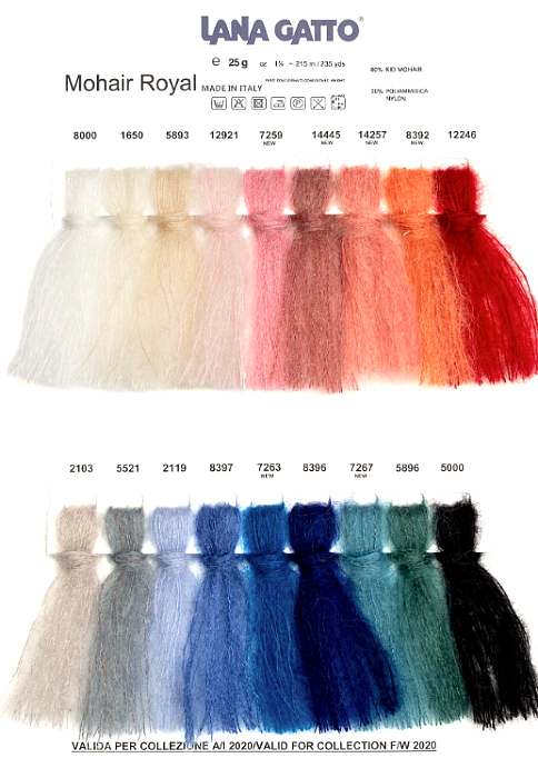 Lana Gatto Mohair Royal AW2020